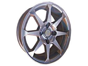 Llanta 13x5.5 4x108 Silver +25 Or