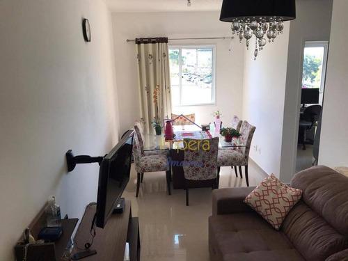 Apartamento Max Club Com 2 Dormitórios À Venda, 47 M² Por R$ 225.000 - Jardim Ismênia - São José Dos Campos/sp - Ap0529