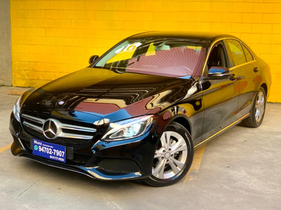Mercedes Benz C180 1.6 Avantgarde Turbo Flex Metro Sao Lucas