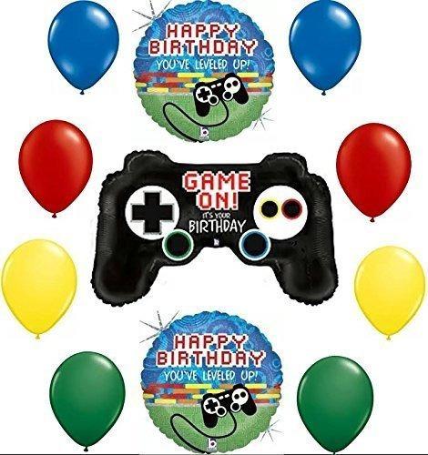 Imagen 1 de 1 de Los Jugadores Juegan En Su Cumpleaños Kit De Decoracion De