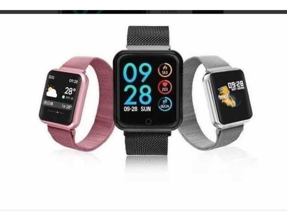 Relógio Smart Whatch P70 Pro Com Duas Pulseiras