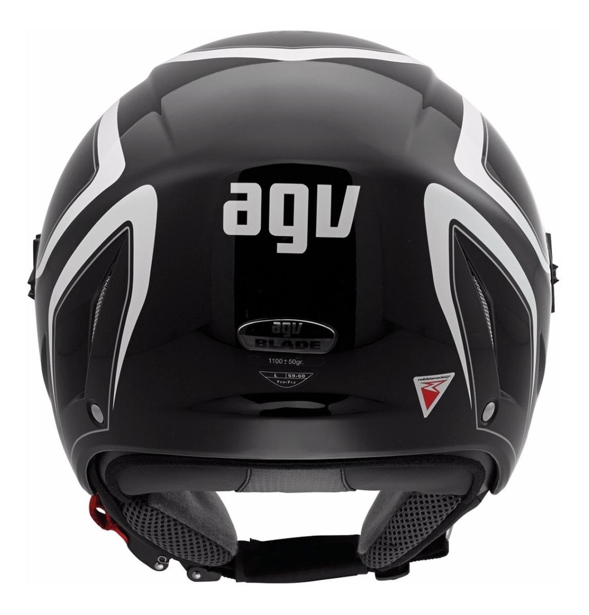 Capacete AGV Blade (Aberto) Tab - Proteção para