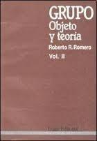 Grupo: Objeto Y Teoria Vol. 2 - Roberto R. Romero - Lugar