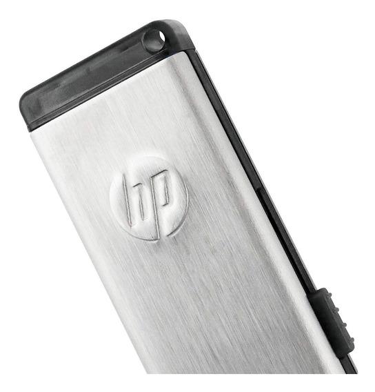 Hp Pen Drive 16gb V257w - Retráctil / Metal