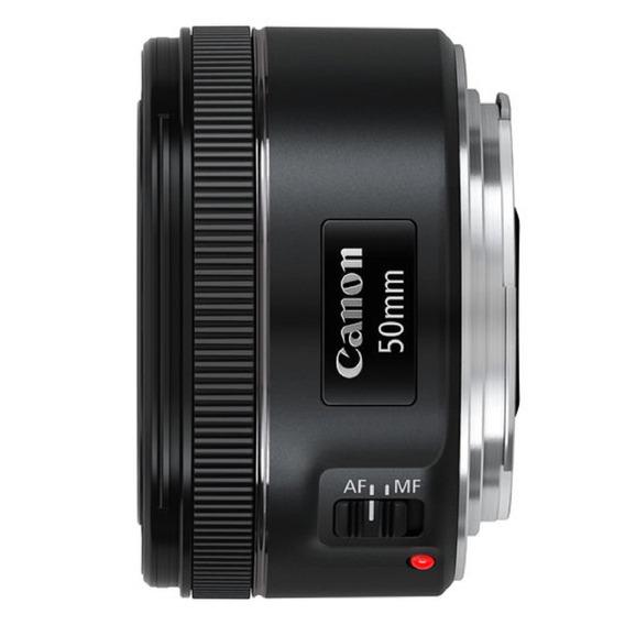 Lente Canon Ef 50mm F/1.8 Stm Garantia Sem Juros