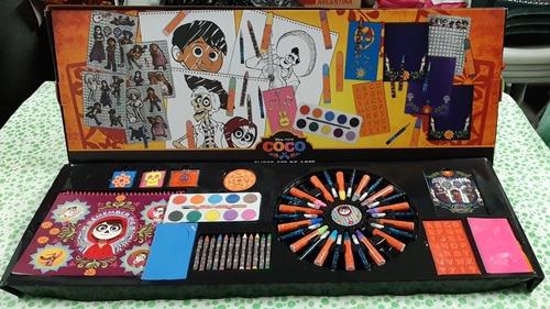 Set De Arte Infantil Coco, +100 Piezas, Gran Calidad, Oferta