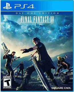 Juego Ps4 Final Fantasy Xv Edición Día Uno