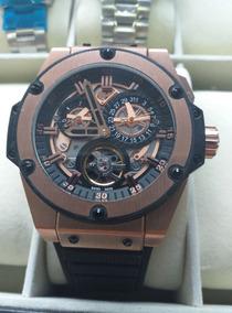 Relógio Masculino Hblot King Power Turbillion