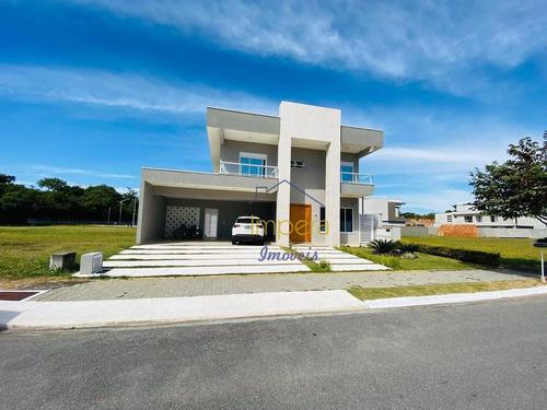 Sobrado Cond Jardim Do Golf 2 Com 5 Dormitórios À Venda, 380 M² Por R$ 2.500.000 - Cond Jardim Do Golfe - São José Dos Campos/sp - So0011