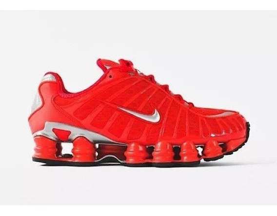 Tênis Sapato Nike 12 Molas Ti Red Masculino Promoção 34 - 43