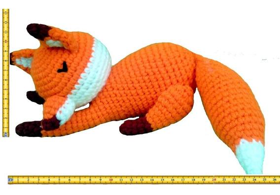 Un zorro dormilón (con imágenes)   Patrón de zorro, Patrones ...   396x568