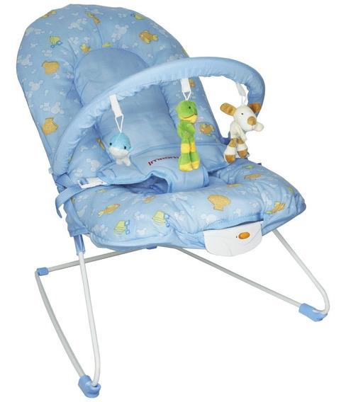 Cadeira Cadeirinha Bebê Descanso Vibratória Musical Macia