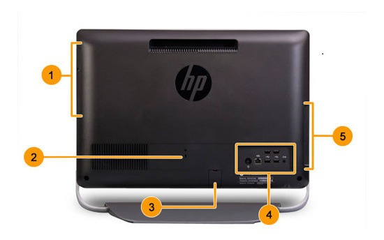 All In One Hp Touchsmart Touchscreen 320 Pc
