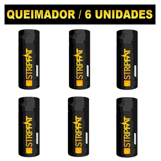 Kit Com 06 Unidades Thermo Gel Nanotech Stripfat