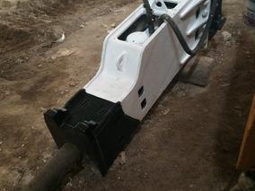 Martillo Hidraulico Para Excavadora De 20 Tons Funcionando