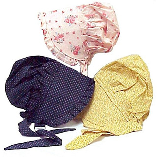 Bonnet Large Hecho De 100% Algodon Los Colores Pueden Variar