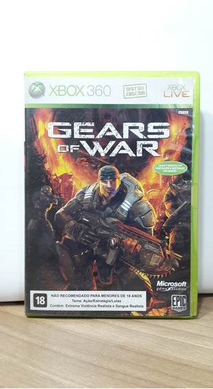Gears Of War Xbox 360 Usado
