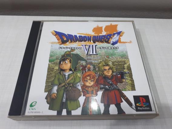 Dragon Quest Vii 7 Original Playstation One Ps1 Daxy