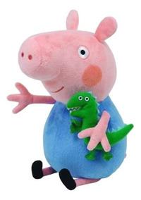 Peppa Pig Pelúcia 30cm - George - Original