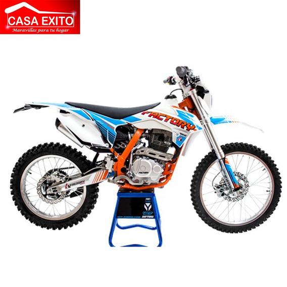 Moto Factory Fx250 Ak47 2019 250cc Color Blanco Tipo Enduro
