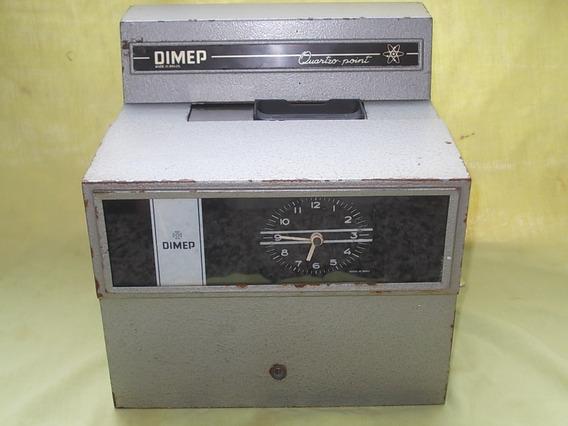 Relógio De Ponto Dimep Antigo Peça Para Decoração