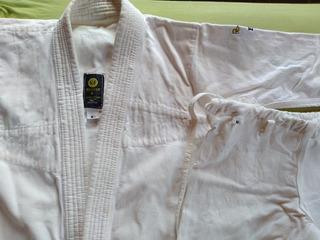 Kimono Branco Kf M1 Infantil Jiu-jitsu Judô Usado