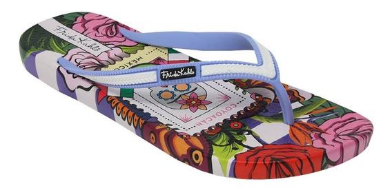 Sandalias Con Diseño De Frida Kahlo Coyoacan Fc-3083