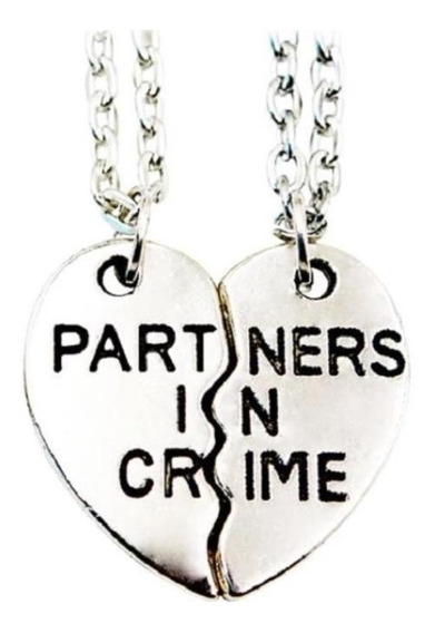 Collar Partners In Crime - Complice - 2 Unidades
