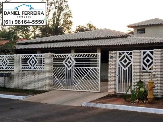 Ótima Casa 3 De Quartos No Condomínio Ecológico Parque Do Mirante. - Ca00016 - 4821245