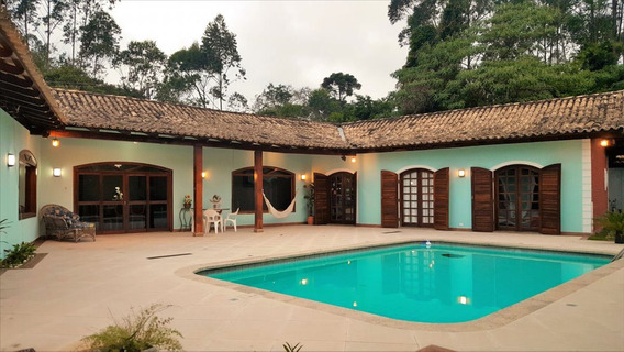 Ref.: 5027 - Casa Em Itapecerica Da Serra, No Bairro Chácara Italago - 5 Dormitórios