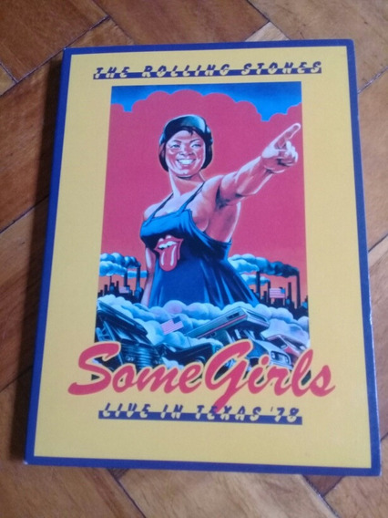 The Rolling Stones Dvd & Cd Set Some Girls Live In Texas