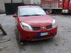 Renault Sandero 2011 Con Aire Acondicionado Y Super Economic