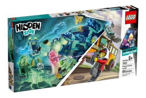 Imagen 1 de 3 de Lego 70423 Camión Interceptor Paranormal