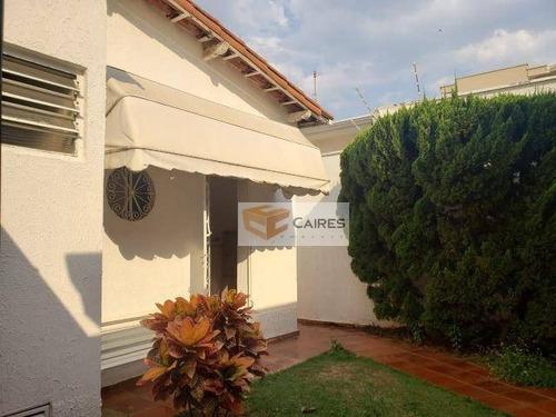 Imagem 1 de 19 de Casa Com 3 Dormitórios À Venda, 245 M² Por R$ 770.000,00 - Jardim Chapadão - Campinas/sp - Ca2970