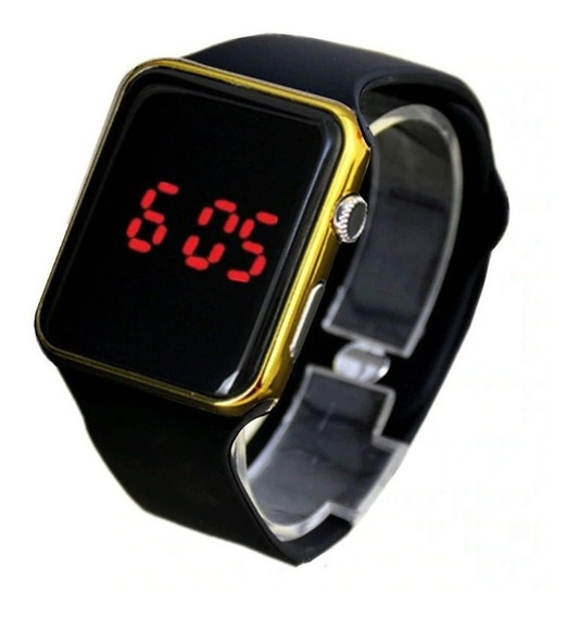 Relógio De Pulso Digital Led Masculino Feminino Unisex Amrl