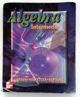Libro Álgebra Intermedia 2da Edición Mc Graw Hill
