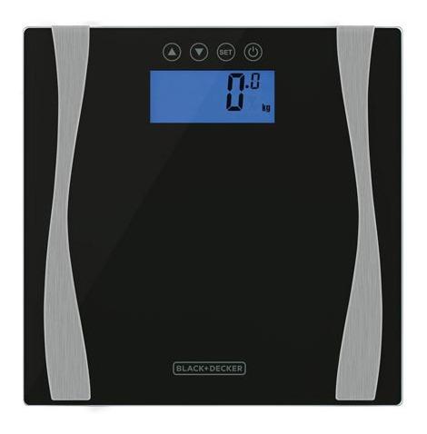 Balança Eletrônica Black & Decker C/ Bioimpedância - Bk60-br