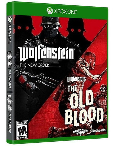 Wolfenstein: The Two Pack ( 2 Jogos ) - Xbox One - Original