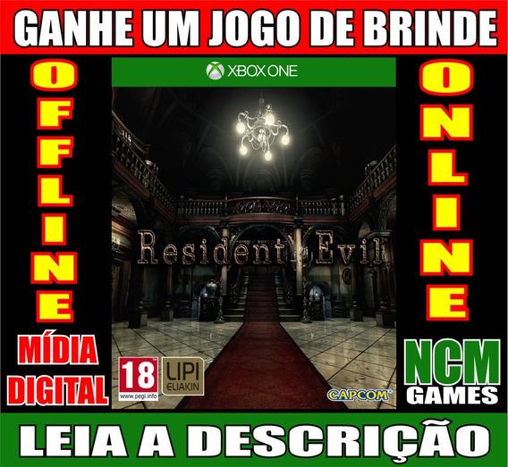 Resident Evil 1 Xbox One + Brinde