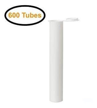Doob Tube 109mm Tubo Preroll Blanco | Paquete De 600 | Imper