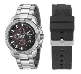 Relógio Kit Masculino Seculus 20604g0svns1 Promo Dia Dos Pai