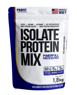 Whey Isolate Protein Mix Refil 1,8kg Profit - Mp Importada