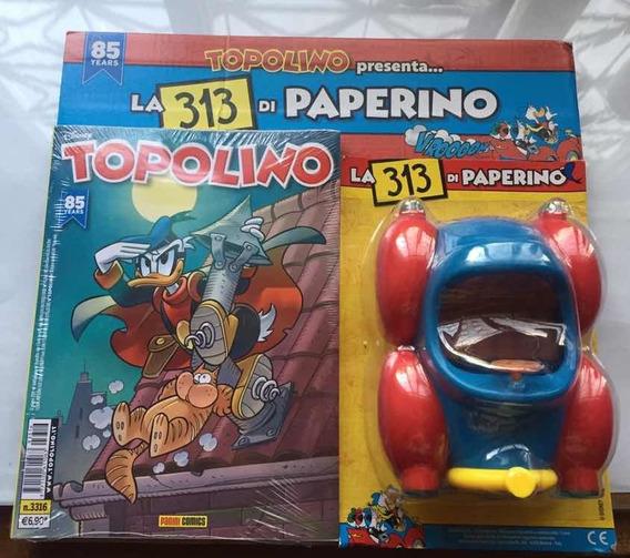Topolino 3316 E 3317 Com Carro 313 Do Donald - Bonellihq H19