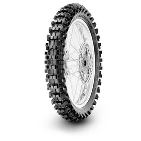 Pneu Moto Pirelli 100/90-19 Scorpion Mx32 -traseiro