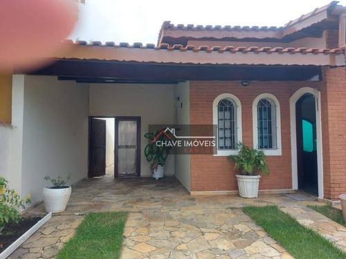 Casa À Venda, 130 M² Por R$ 350.000,00 - Balneário Três Marias - Peruíbe/sp - Ca0273