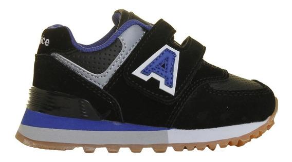 Zapatillas Addnice Moda Baby R.olimpic Abrojo Bebe Ng/az