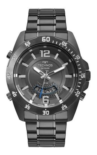 Relógio Technos Masculino Skydiver T205jm/4c Grafite