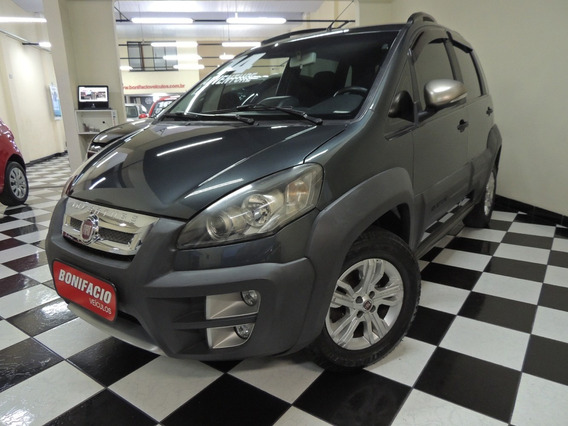 Fiat / Idea Adventure 1.8 - Flex - Cinza - Completo - 2014