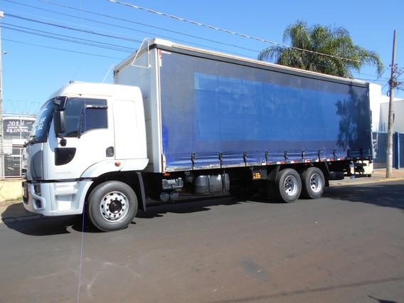 Ford Cargo 2429 6x2 2013 Sider Único Dono