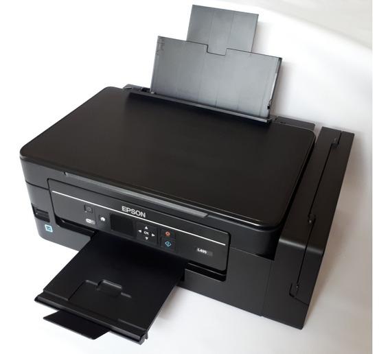 Impressora Multifuncional Epson L495 Jato/tanque Tinta Lcd
